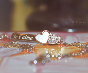 heart, vintage, and je t'aime image