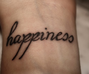 tattoo, happiness, and happy image
