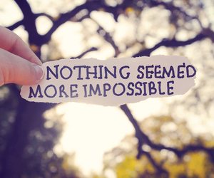 quote, text, and impossible image