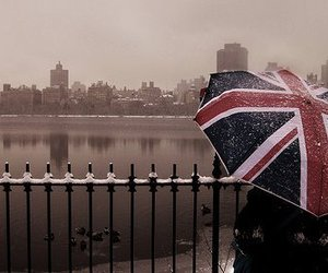 london, umbrella, and england image