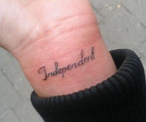 tattoo and independent image