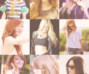 gg, girls generation, and snsd image