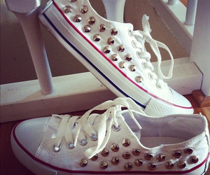 fashion, all star, and white image