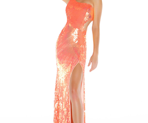 dress, gown, and sequins image