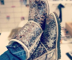 fashion, shoes, and ugg image