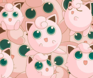 pokemon, pink, and jigglypuff image