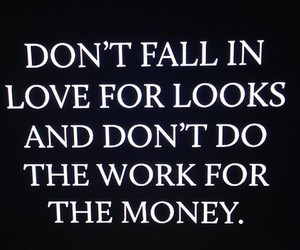 quote, love, and money image