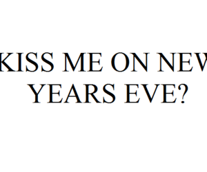 feelings, kiss, and new year image