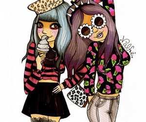 girl, cute, and valfre image