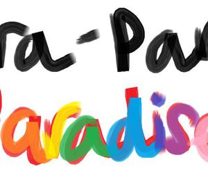 paradise, coldplay, and colors image