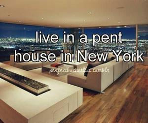 new york, Dream, and pent house image
