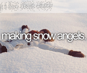 angels, make, and snow image