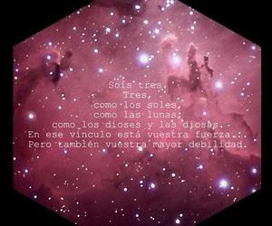 beautiful, hexagon, and nebula image