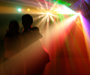 light, couple, and party image