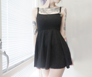 black, angelica sehlin, and dress image