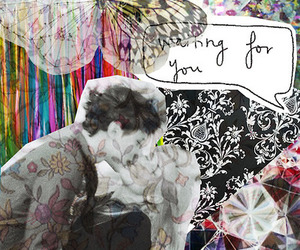 love, art, and Collage image