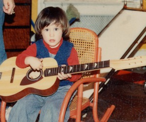 baby, guitar, and nick image