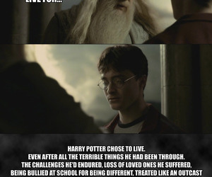 dumbledore, harry potter, and help image
