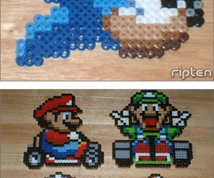 art, luigi, and sonic image