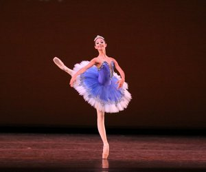 ballet, blue, and dance image