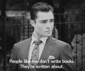 book, quote, and chuck bass image
