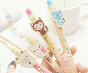 cute, pen, and kawaii image