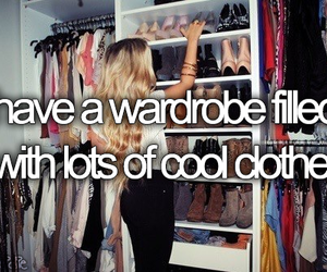 clothes, wardrobe, and cool image