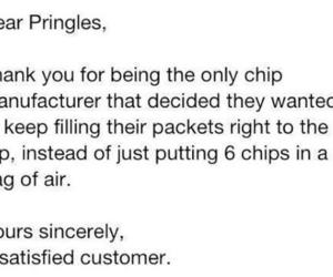 pringles, quote, and funny image