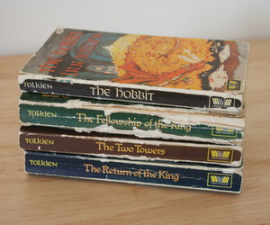 book, the hobbit, and old image