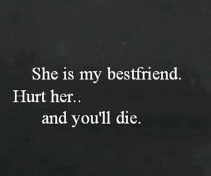 best friends, bff, and hurt image