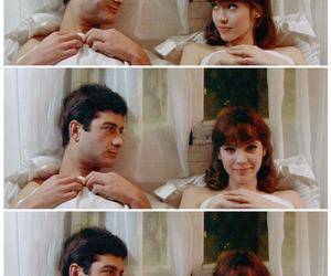 couple, anna karina, and bed image