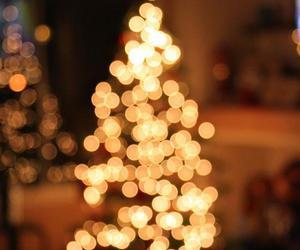 christmas, winter, and bokeh image