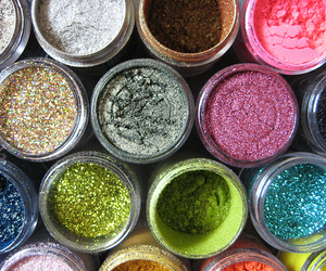 glitter, make up, and makeup image