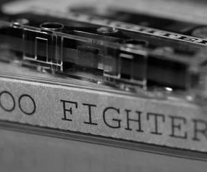 foo fighters, music, and black and white image