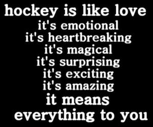 hockey and sport image
