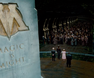 deathly hallows, harry potter, and ministry of magic image