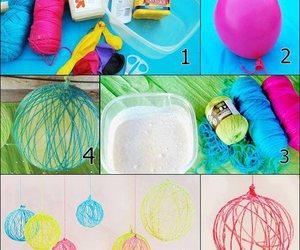 diy, tutorial, and balloons image