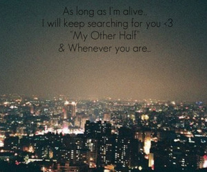 alive, city, and words image