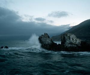 sea, ocean, and winter image