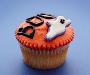 cupcake, boo, and candy image