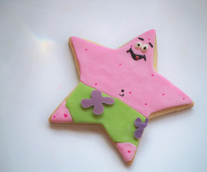 cookie, patrick, and food image