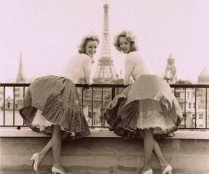 paris, girl, and vintage image
