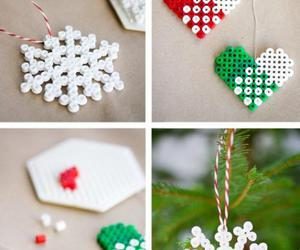 christmas, diy, and snowflake image