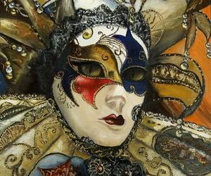 mask, máscara, and mascarede image