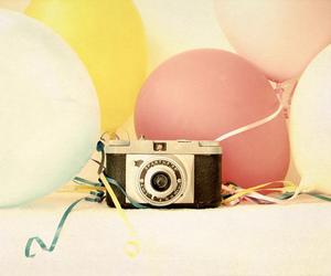 adorable, globos, and lindo image