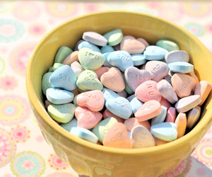 candy, hearts, and sweet image