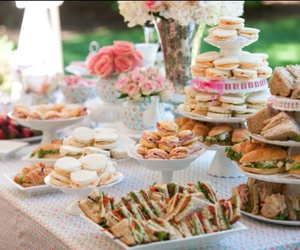 food, party, and fun image