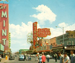 Las Vegas, vintage, and casino image
