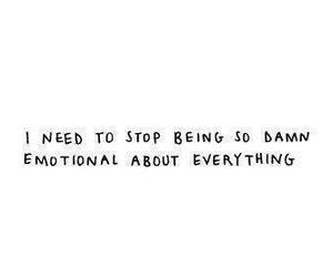 quote, emotional, and me image