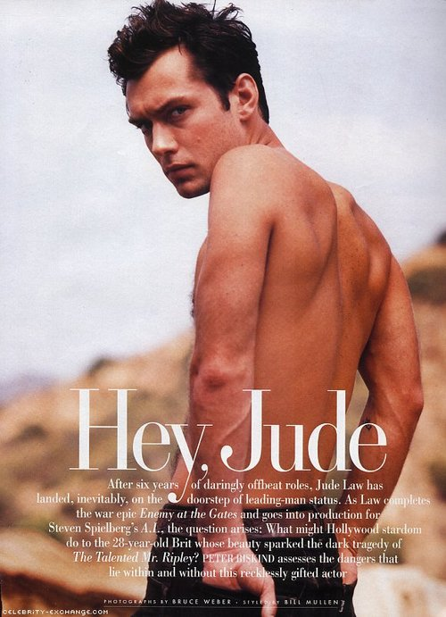 jude law and Hot image
